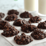Chocolate Oatmeal No Bake Cookies - Hug For Your Belly