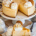 No-Bake Pumpkin Cheesecake Recipe (video) - Tatyanas Everyday Food