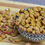 Zero Oil Masala Peanuts/4 Min. Microwave Masala Peanuts - Annapurnaz