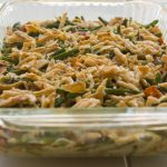 Gluten Free Green Bean Casserole is made with just 5 ingredients...so lish!