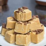 Easy Peanut Butter Fudge with Nutella Swirl - Kate's Sweets