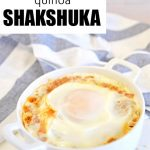 Microwave Quinoa & Shakshuka for One | Perspective Portions