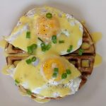 Waffles Benedict – Feet Up In The Dining Room