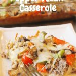 Pepper Steak Casserole || Low Carb, Gluten Free, THM - My Table of Three