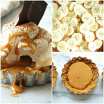 Easy Banoffee Tarts with Whipped Cream