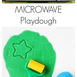 Easiest Ever 5 Minute Microwave Homemade Playdough!