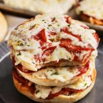 Quick and Easy Pizza Bagels {Only 4 Ingredients!} - Spend With Pennies