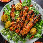 Piri Piri Chicken and Potato Skewers - Host The Toast