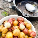 Dutch Oven Roasted Potatoes | Book Lovers Pizza