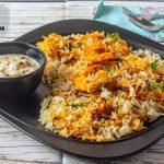 Prawns Biryani in Microwave-Jhinga Biryani in Microwave - Kali Mirch - by  Smita