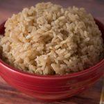 Pressure Cooker Brown Jasmine Rice - DadCooksDinner
