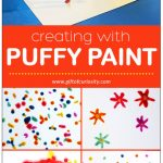 DIY Puffy Paint: A STEAM Project for Kids - Gift of Curiosity