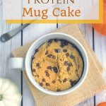 Pumpkin Chip Protein Mug Cake - Nutrition Starring YOU