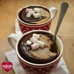 Chocolate pumpkin mug cakes - Maison Cupcake