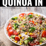 The Easiest Way to Cook Quinoa (In The Microwave) - Perfection Pending