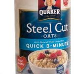 Wondering What to Eat for Breakfast? Try Quaker's Quick-Cooking Steel Cut  Oats - Nutrition Action