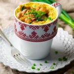 One-Minute Microwave Quiche in a Mug Recipe by Hannah Hoskins