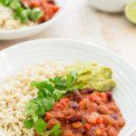 Quick Beany Chilli (Vegan) - Easy Peasy Foodie