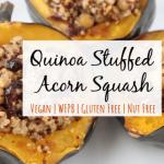 Stuffed Acorn Squash Recipe   Simply Plant Based Kitchen