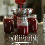 Raspberry-Pear Jam -