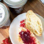Red Currant Jam Recipe - Sustain My Cooking Habit