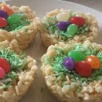 How to make Rice Krispie Treat Nests Recipes from the Food Lair