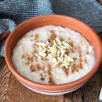 Vegan rizogalo / Vegan rice pudding (Νηστίσιμο ρυζόγαλο)   Taking the  guesswork out of Greek cooking...one cup at a time