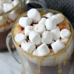 Salted Caramel Hot Chocolate Recipe - The Bitter Side of Sweet