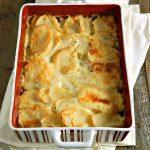 Scalloped Potatoes, like the ones your Grandma made! - Frugal Hausfrau