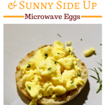 Microwave Eggs Three Ways for a Quick Breakfast ~ El's Kitchen Comforts