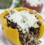 Keto Stuffed Bell Peppers - Oh So Foodie