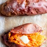 Simple Baked Sweet Potato - How to Bake Sweet Potatoes   Abra's Kitchen