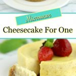 Simple Microwave Cheesecake For One - Cheesecake It Is!