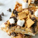 S'mores Marshmallow Treats - The Bitter Side of Sweet