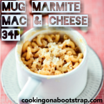 Microwave Marmite Mac n Cheese, 34p [Cooking On A Bootstrap] – Jack Monroe