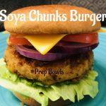 Soya Chunks Burger - Meal Maker Burger - Prepbowls