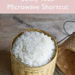 Thai Sticky Rice with a Microwave
