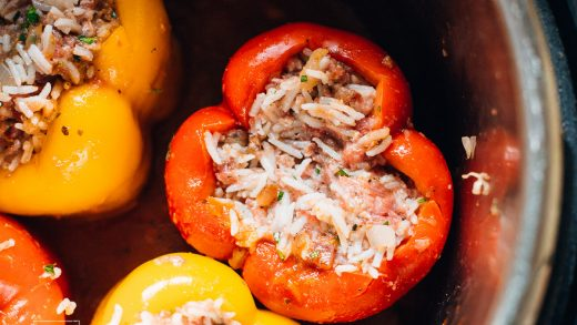 Stuffed Bell Peppers Instant Pot - Munchkin Time