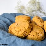 Maple Bacon Sweet Potato Biscuits