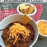The Best-Ever Homemade Chili! - MomOf6