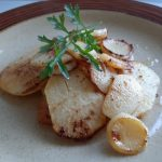 Turnip and Swede Garlic Chips ~ Grow Create Save