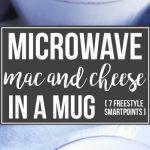 Microwave Mac and Cheese in a Mug