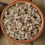 Quinoa in the Microwave • Steamy Kitchen Recipes Giveaways