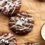Easy Vegan Halloween Cookies | Shivani Loves Food