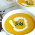 Vegan Pumpkin Soup - Dairy Free for Baby