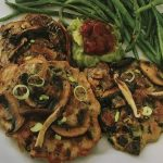 Wild Rice Pancakes with Mushrooms and Goat Cheese   Wild Teal Healing Arts