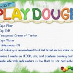 Microwave Playdough Recipe | Playdough recipe, Playdough, Playdoh recipe