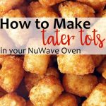 Find out how to make tater tots in the NuWave Oven. Get the best crispy tater  tots with this e…   Nuwave oven recipes, Halogen oven recipes, Convection  oven recipes