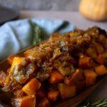 Roasted Apple and Butternut Squash   Cashews & Quinoa