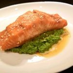 Recipe: Yummy Asian Inspired Salmon With Ginger Mint Pea Puree | West Main  Kitchen